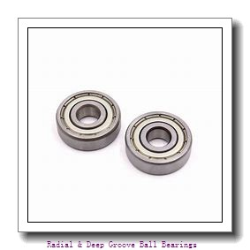 Timken 6005-2RS Radial & Deep Groove Ball Bearings