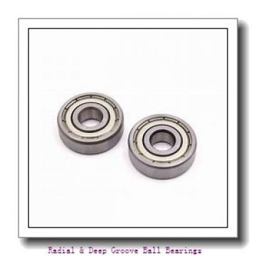 PEER 6003-ZZD RADIAL BALL BRG- SML SZ W/ TWO Radial & Deep Groove Ball Bearings