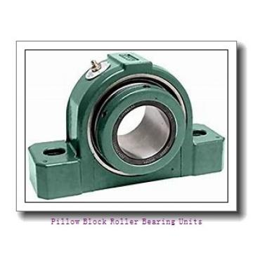2.438 Inch | 61.925 Millimeter x 3.375 Inch | 85.725 Millimeter x 3.25 Inch | 82.55 Millimeter  Sealmaster USRBF5515-207-C Pillow Block Roller Bearing Units
