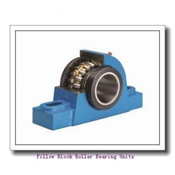 1.438 Inch | 36.525 Millimeter x 3.344 Inch | 84.938 Millimeter x 2.25 Inch | 57.15 Millimeter  Sealmaster USRB5509AE-107-C Pillow Block Roller Bearing Units