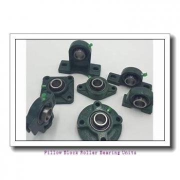 2.438 Inch | 61.925 Millimeter x 3.375 Inch | 85.725 Millimeter x 3.25 Inch | 82.55 Millimeter  Sealmaster USRBF5515E-207-C Pillow Block Roller Bearing Units
