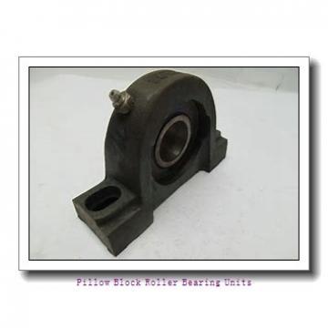 1.625 Inch | 41.275 Millimeter x 2.844 Inch | 72.238 Millimeter x 2.125 Inch | 53.98 Millimeter  Sealmaster RPBA 110-2 Pillow Block Roller Bearing Units