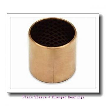 Oilite AA710-03 Plain Sleeve & Flanged Bearings