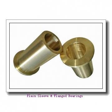 Oilite AA624-02 Plain Sleeve & Flanged Bearings