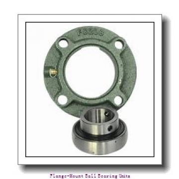 2.4375 in x 5.6250 in x 6.8750 in  Boston Gear (Altra) 12F 2-7/16 Flange-Mount Ball Bearing Units