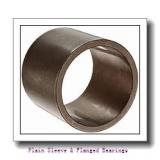 Oilite AA632-06 Plain Sleeve & Flanged Bearings