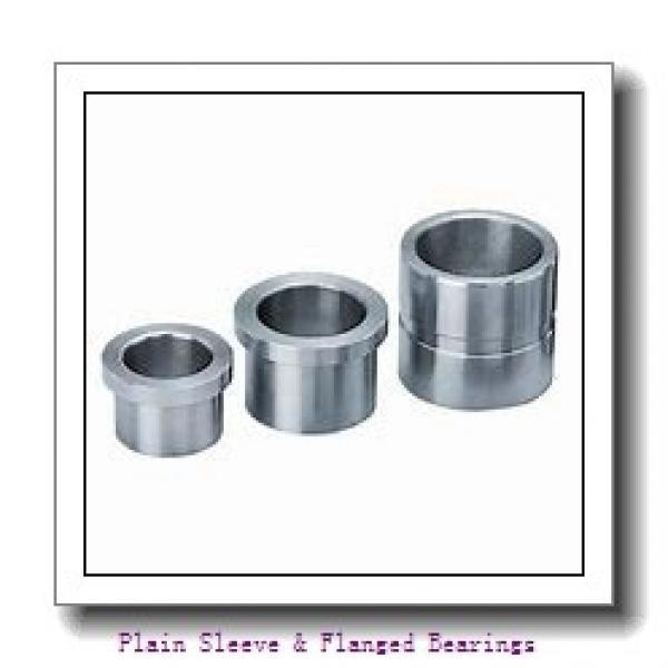 Oilite AAM0508-08 Plain Sleeve & Flanged Bearings #1 image