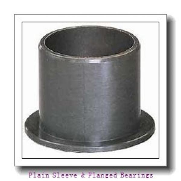 Oilite AAM0609-06 Plain Sleeve & Flanged Bearings #2 image