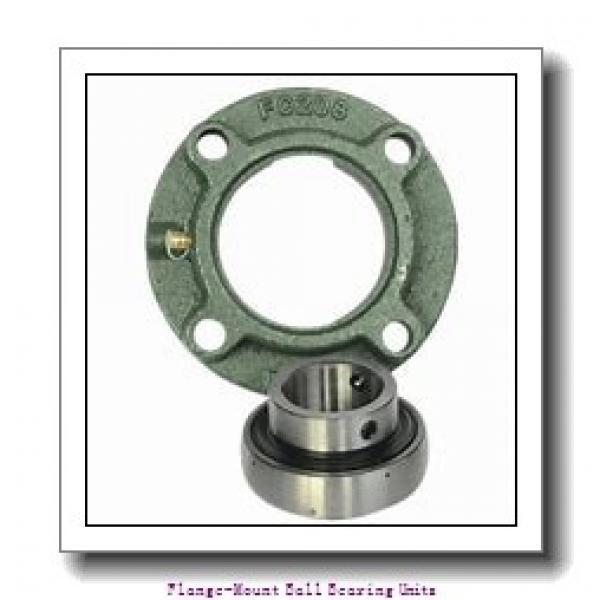 AMI UKFL208+HE2308 Flange-Mount Ball Bearing Units #2 image